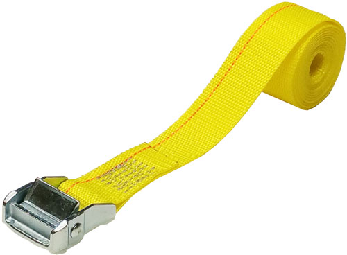 1.5 INCH CINCH STRAP 6 FT YELLOW