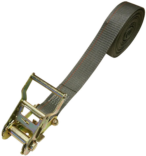 1.5 INCH CINCH-STRAP RATCHET 20 FT GRAY