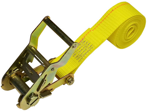 1.5 INCH CINCH-STRAP RATCHET 6 FT YELLOW